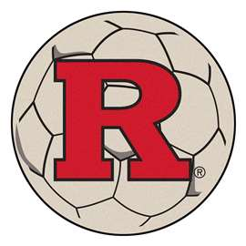 Rutgers University  Soccer Ball Mat, Rug , Carpet