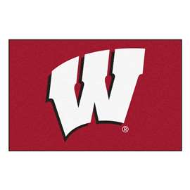 University of Wisconsin  Starter Mat Mat, Rug , Carpet