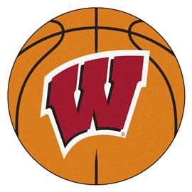 University of Wisconsin  Basketball Mat Rug Carpet Mats