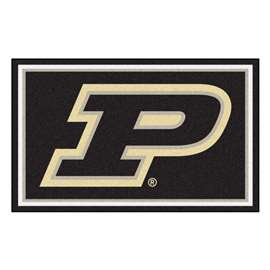 Purdue University  4x6 Rug Rug Carpet Mats