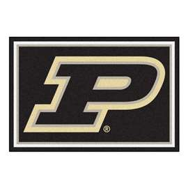 Purdue University  5x8 Rug Rug Carpet Mats
