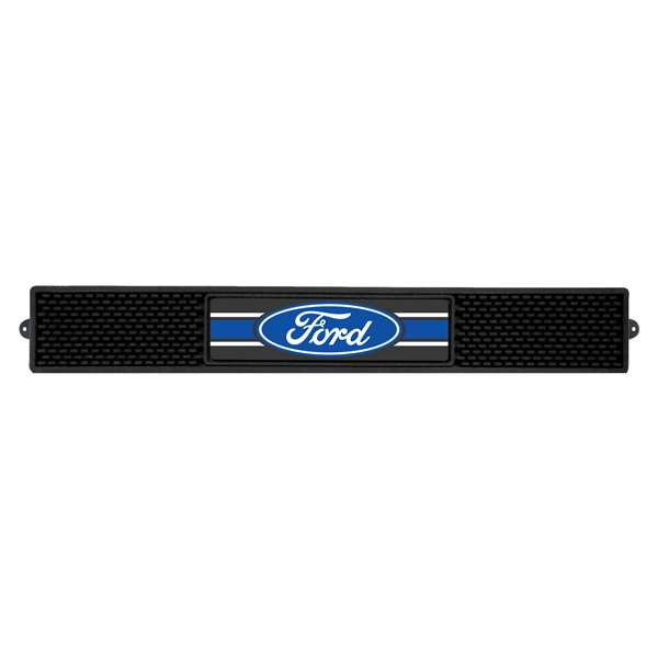 Ford - Ford Oval with Stripes  Drink Mat