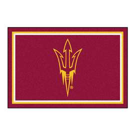 Arizona State University  5x8 Rug Rug Carpet Mats
