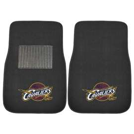 NBA - Cleveland Cavaliers  2-pc Embroidered Car Mat Set