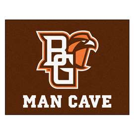 Bowling Green State University  Man Cave All-Star Mat, Rug Carpet