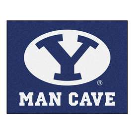 Brigham Young University  Man Cave All-Star Mat, Rug Carpet