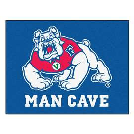 Fresno State  Man Cave All-Star Mat, Rug Carpet