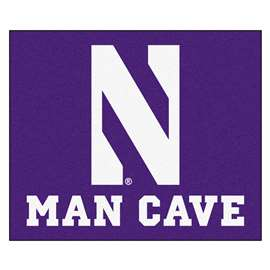 Northwestern University  Man Cave Tailgater Mat, Rug Carpet