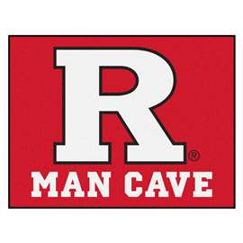 Rutgers University  Man Cave All-Star Mat, Rug Carpet