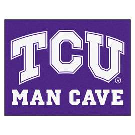 Texas Christian University  Man Cave All-Star Mat, Rug Carpet
