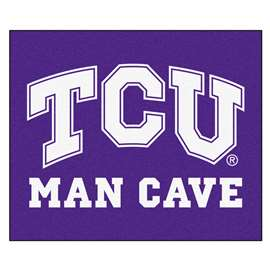 Texas Christian University  Man Cave Tailgater Mat, Rug Carpet