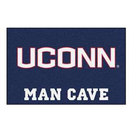 University of Connecticut  Man Cave Starter Mat, Rug Carpet