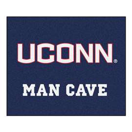 University of Connecticut  Man Cave Tailgater Mat, Rug Carpet