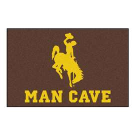University of Wyoming  Man Cave Starter Mat, Rug Carpet