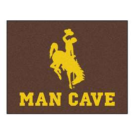 University of Wyoming  Man Cave All-Star Mat, Rug Carpet