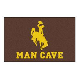 University of Wyoming  Man Cave UltiMat Mat, Rug Carpet