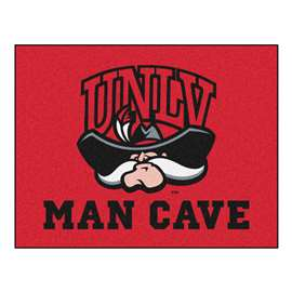 University of Nevada, Las Vegas (UNLV)  Man Cave All-Star Mat, Rug Carpet
