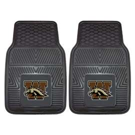 Western Michigan University  2-pc Vinyl Car Mat Set