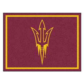 Arizona State University  8x10 Rug Rug Carpet Mats