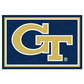 Georgia Tech  8x10 Rug Rug Carpet Mats