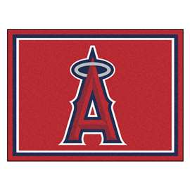 MLB - Los Angeles Angels 8'x10' Rug  8x10 Rug