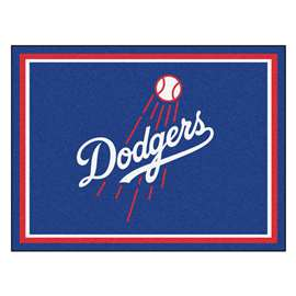 MLB - Los Angeles Dodgers 8'x10' Rug  8x10 Rug
