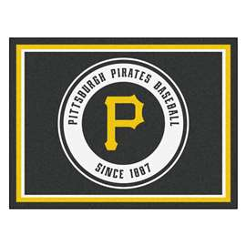 MLB - Pittsburgh Pirates 8'x10' Rug  8x10 Rug