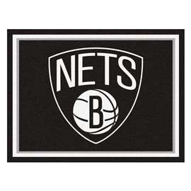 NBA - Brooklyn Nets  8x10 Rug Rug Carpet Mats