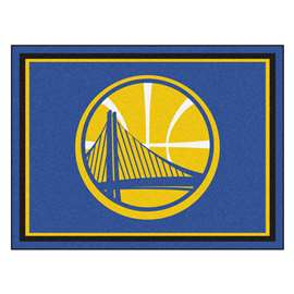NBA - Golden State Warriors  8x10 Rug Rug Carpet Mats