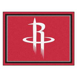 NBA - Houston Rockets  8x10 Rug Rug Carpet Mats