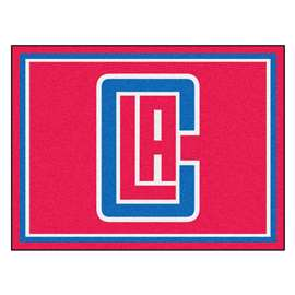 NBA - Los Angeles Clippers  8x10 Rug Rug Carpet Mats