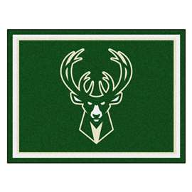 NBA - Milwaukee Bucks  8x10 Rug Rug Carpet Mats