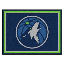 NBA - Minnesota Timberwolves  8x10 Rug Rug Carpet Mats