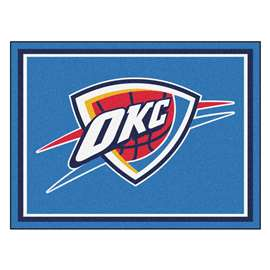 NBA - Oklahoma City Thunder  8x10 Rug Rug Carpet Mats