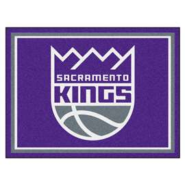 NBA - Sacramento Kings  8x10 Rug Rug Carpet Mats