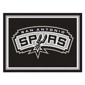NBA - San Antonio Spurs  8x10 Rug Rug Carpet Mats