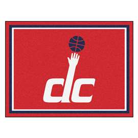 NBA - Washington Wizards  8x10 Rug Rug Carpet Mats