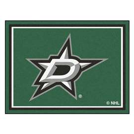 NHL - Dallas Stars Rug Carpet Mats 87 X 117 Inches