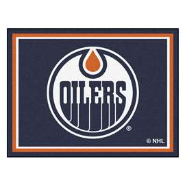 NHL - Edmonton Oilers Rug Carpet Mats 87 X 117 Inches