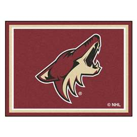 NHL - Arizona Coyotes Rug Carpet Mats 87 X 117 Inches