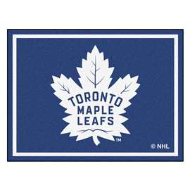 NHL - Toronto Maple Leafs Rug Carpet Mats 87 X 117 Inches