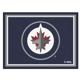 NHL - Winnipeg Jets Rug Carpet Mats 87 X 117 Inches