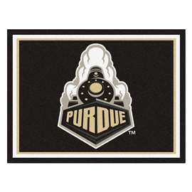 Purdue University  8x10 Rug Rug Carpet Mats