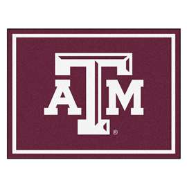 Texas A&M University  8x10 Rug Rug Carpet Mats