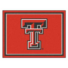 Texas Tech University  8x10 Rug Rug Carpet Mats