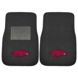 University of Arkansas  2-pc Embroidered Car Mat Set