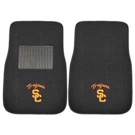 University of Southern California  2-pc Embroidered Car Mat Set