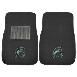Michigan State University  2-pc Embroidered Car Mat Set