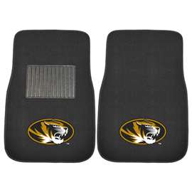 University of Missouri  2-pc Embroidered Car Mat Set