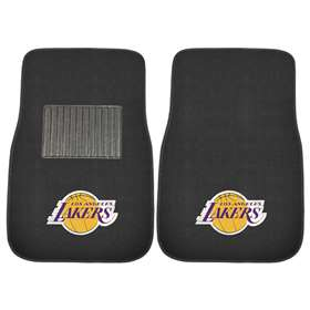 NBA - Los Angeles Lakers  2-pc Embroidered Car Mat Set